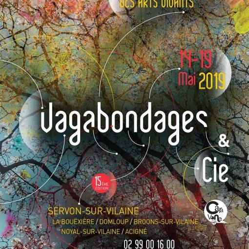 Affiche Festival Vagabondages et Compagnie 2019